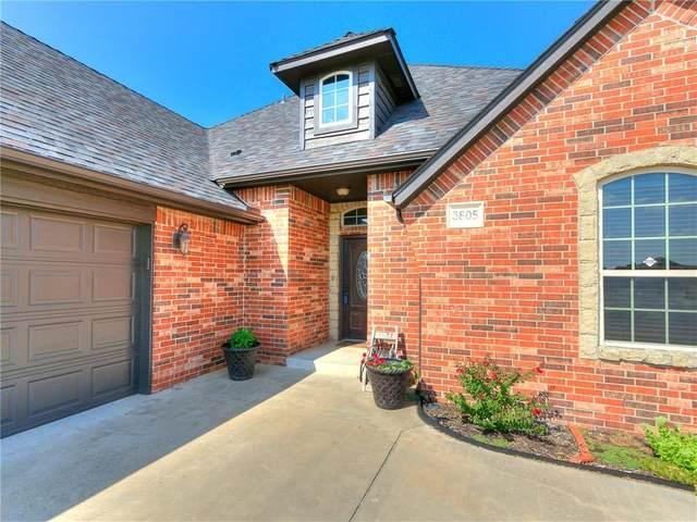 3805 Wickersham Drive, Edmond, OK 73013 (MLS #971926) :: Maven Real Estate