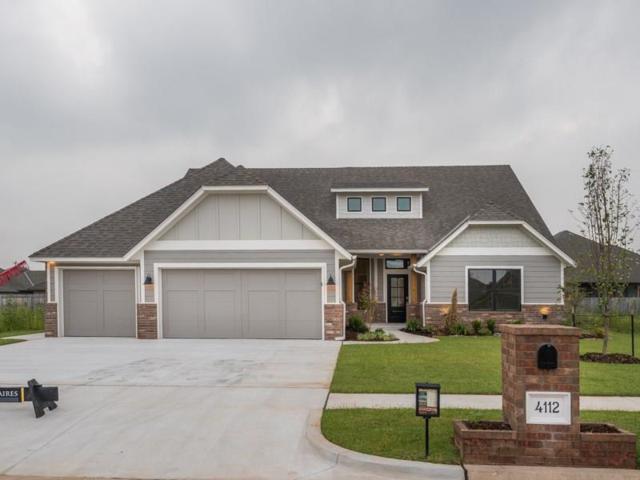 4112 Carmona Lakes Circle, Moore, OK 73160 (MLS #770660) :: Wyatt Poindexter Group