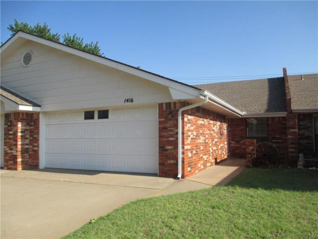 1416 E Proctor, Weatherford, OK 73096 (MLS #798858) :: KING Real Estate Group