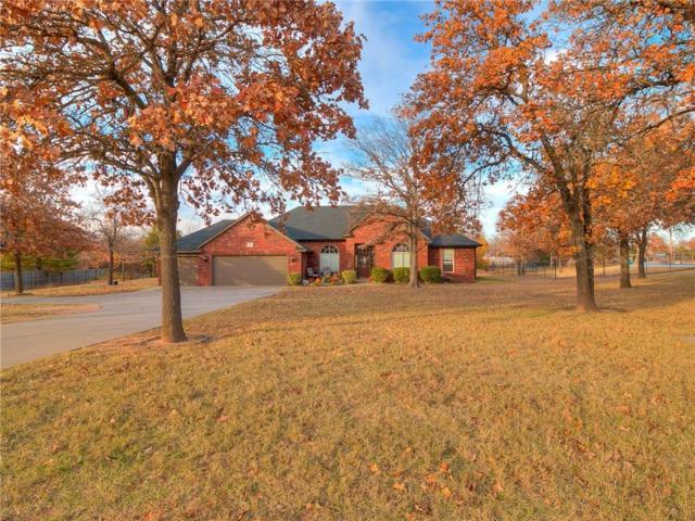 909 Hickory Drive, Choctaw, OK 73020 (MLS #799225) :: Wyatt Poindexter Group