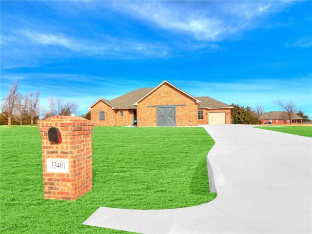 13401 La Cresta Drive, Piedmont, OK 73078 (MLS #803709) :: Wyatt Poindexter Group