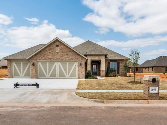 4605 Mccann Avenue, Mustang, OK 73064 (MLS #804133) :: Erhardt Group at Keller Williams Mulinix OKC