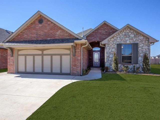 8109 Lillas Way, Yukon, OK 73099 (MLS #805079) :: Wyatt Poindexter Group