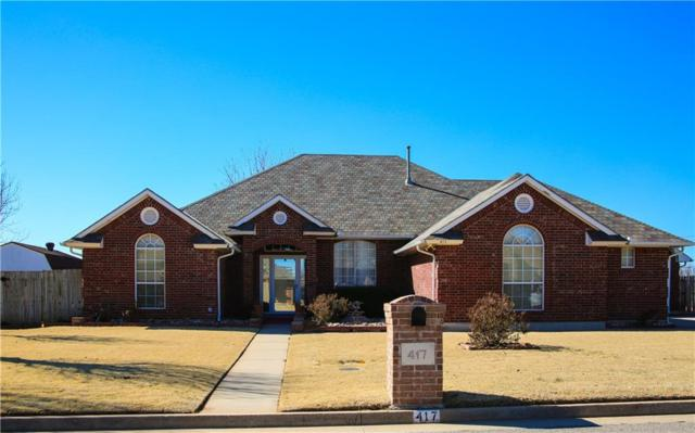 417 Palo Verde Drive, Yukon, OK 73099 (MLS #805365) :: Wyatt Poindexter Group