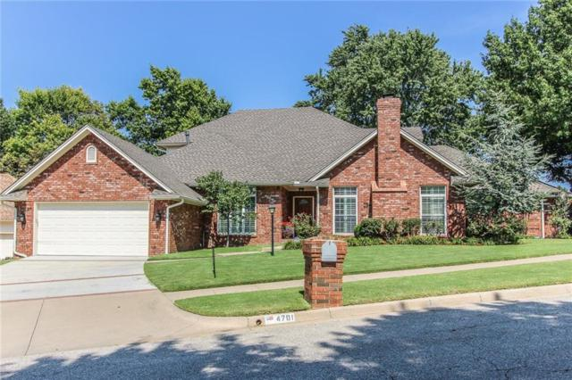 4701 Fountain Gate Drive, Norman, OK 73072 (MLS #805943) :: Wyatt Poindexter Group