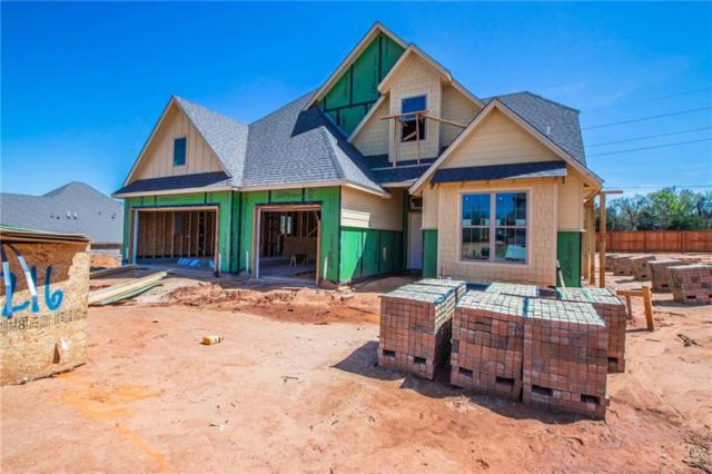 8216 Dax Drive, Edmond, OK 73034 (MLS #807358) :: KING Real Estate Group