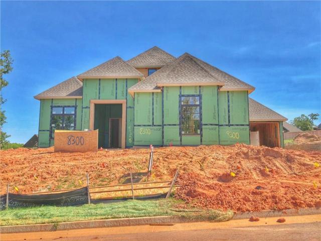 8300 Grass Creek Drive, Edmond, OK 73034 (MLS #807753) :: Wyatt Poindexter Group