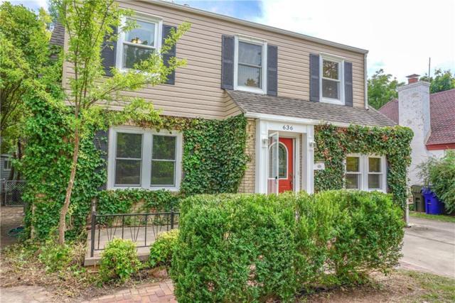 636 E Boyd, Norman, OK 73071 (MLS #810383) :: KING Real Estate Group