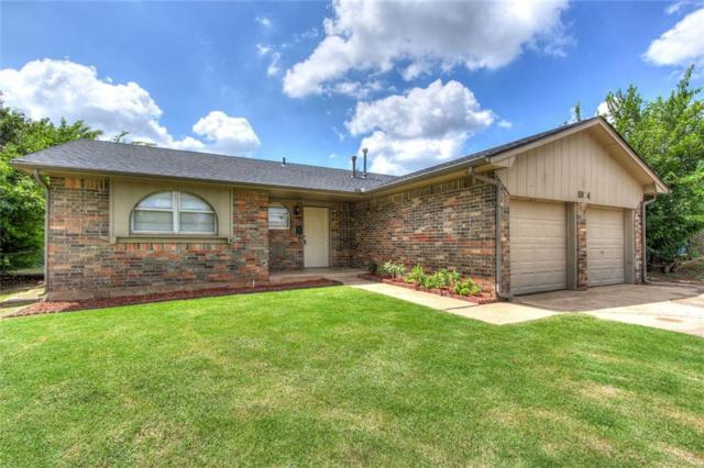 1004 Larkspur Rd., Moore, OK 73160 (MLS #830330) :: Homestead & Co