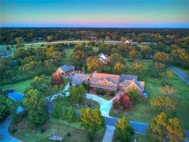 1401 Wandering Oaks Lane, Norman, OK 73026 (MLS #840320) :: Homestead & Co