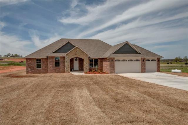 3853 Bluestem Circle, Blanchard, OK 73010 (MLS #846582) :: KING Real Estate Group