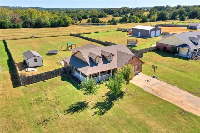 17347 S Rock Creek Road, Shawnee, OK 74801 (MLS #885884) :: Homestead & Co