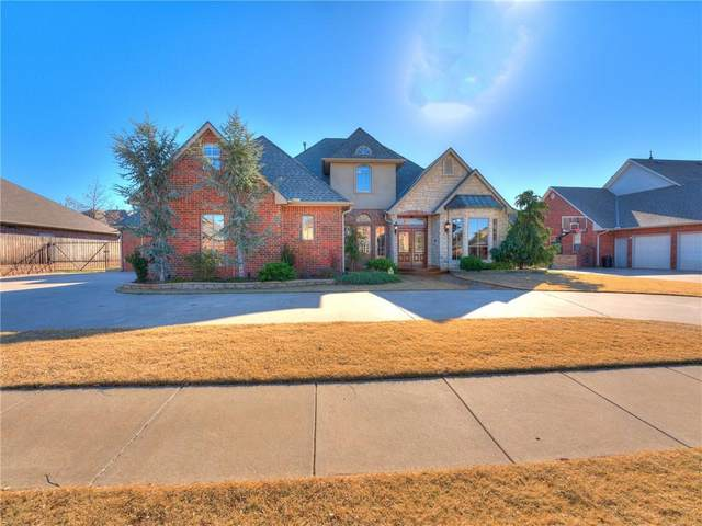 5216 NW 124th Street, Oklahoma City, OK 73142 (MLS #936841) :: KG Realty