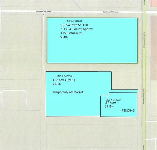 136 SW 79th Street, Oklahoma City, OK 73139 (MLS #942691) :: Keller Williams Realty Elite