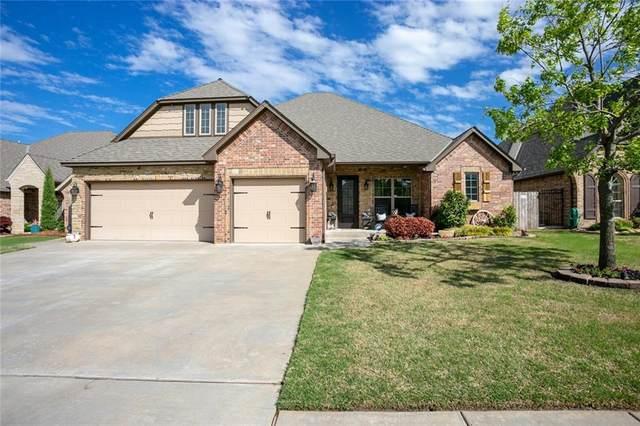 1808 Lago Drive, Moore, OK 73160 (MLS #955353) :: Homestead & Co