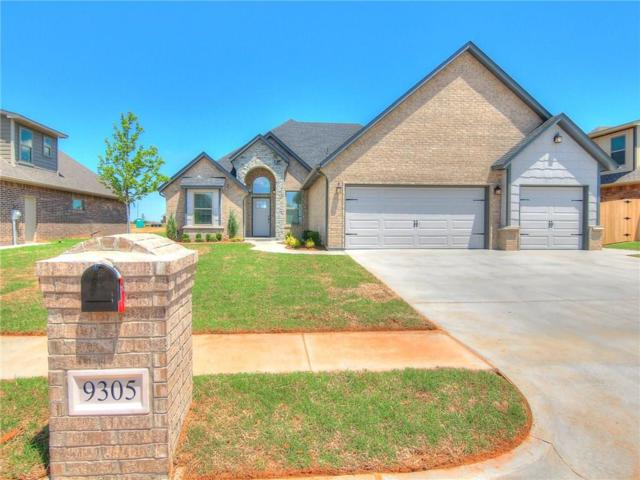 9305 NW 80th Street, Yukon, OK 73099 (MLS #799796) :: Wyatt Poindexter Group