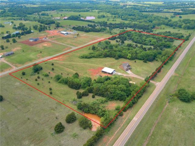 335645 E Highway 105, Carney, OK 74832 (MLS #808380) :: Wyatt Poindexter Group
