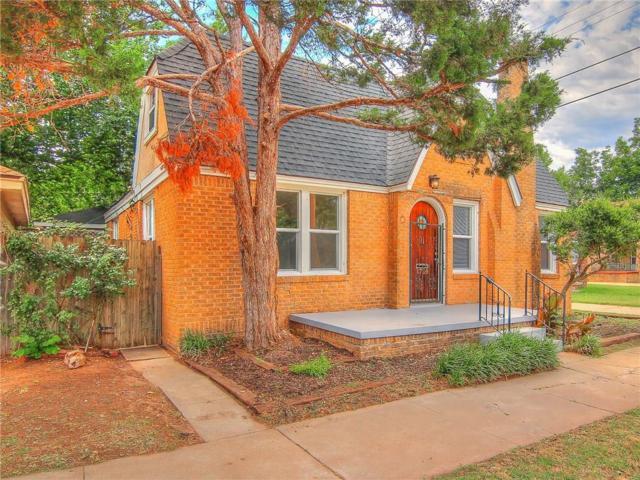 1709 N Billen, Oklahoma City, OK 73107 (MLS #825335) :: Erhardt Group at Keller Williams Mulinix OKC