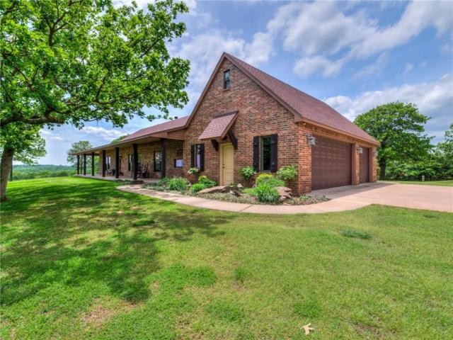 11901 N Luther Road, Luther, OK 73054 (MLS #852924) :: Homestead & Co