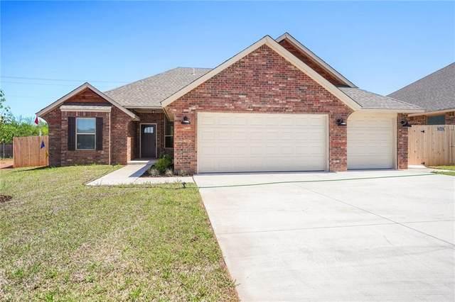 1362 N Taylor Way, Mustang, OK 73064 (MLS #885929) :: Homestead & Co
