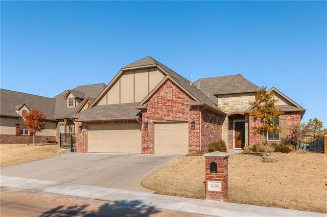 2405 Milano Lane, Oklahoma City, OK 73120 (MLS #890616) :: Homestead & Co