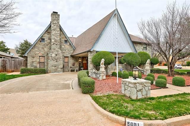 5001 Misty Glen Circle, Oklahoma City, OK 73142 (MLS #901736) :: Homestead & Co