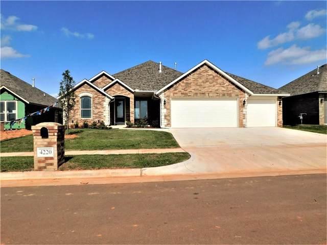 4220 Silver Maple Way, Oklahoma City, OK 73179 (MLS #905947) :: Homestead & Co