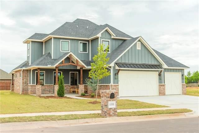8308 Rosita Way, Yukon, OK 73099 (MLS #906410) :: Homestead & Co