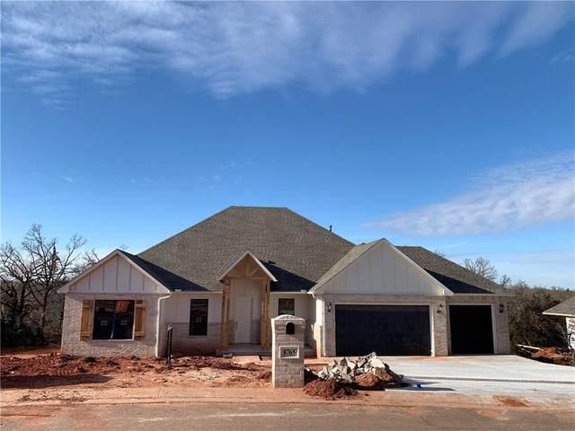 8765 Overlook Drive, Guthrie, OK 73044 (MLS #911901) :: The UB Home Team at Whittington Realty