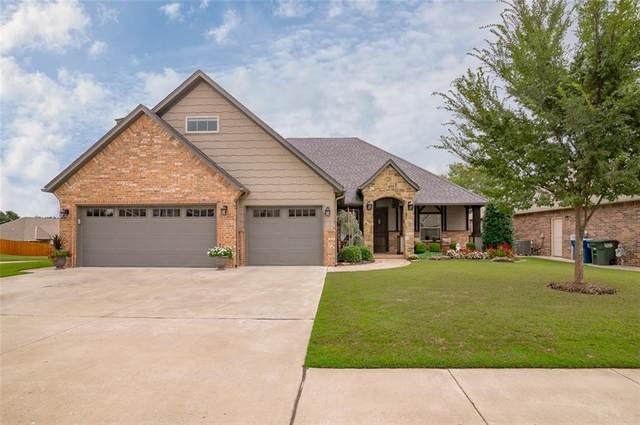 4616 Deerfield Drive, Edmond, OK 73034 (MLS #929391) :: Homestead & Co