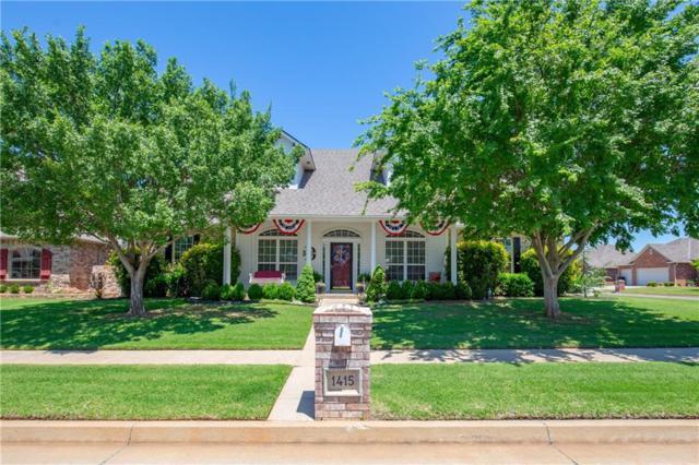 1415 SW 132nd, Oklahoma City, OK 73170 (MLS #807110) :: Homestead & Co
