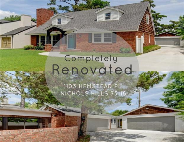 1103 Hemstead Place, Nichols Hills, OK 73116 (MLS #817813) :: Homestead & Co