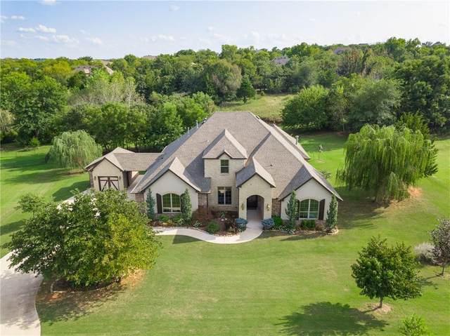 5508 Chateau Lane, Edmond, OK 73034 (MLS #927704) :: Homestead & Co