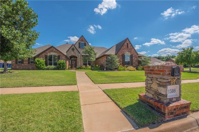 1508 NW 187th Street, Edmond, OK 73012 (MLS #803197) :: Homestead & Co