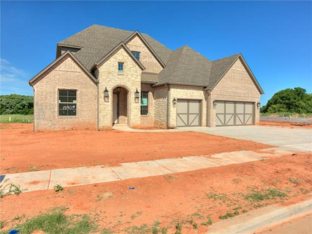 15405 Fountain Creek, Edmond, OK 73013 (MLS #806511) :: Wyatt Poindexter Group