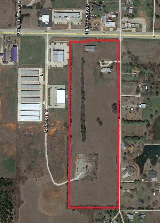 201 S Monocoupe Lane, Mustang, OK 73064 (MLS #724437) :: Wyatt Poindexter Group