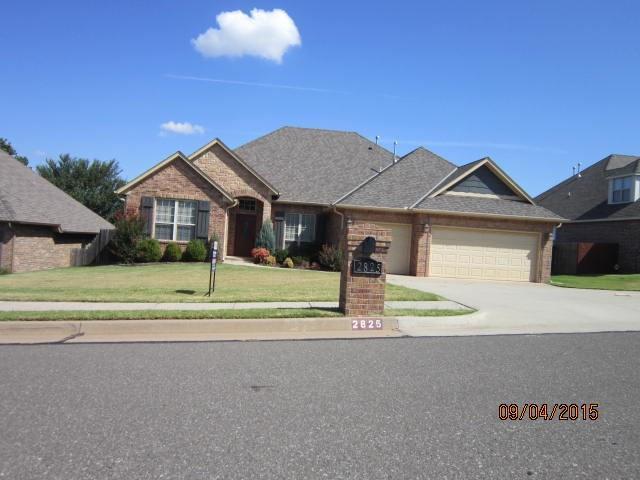2825 Asheforde, Edmond, OK 73034 (MLS #776409) :: Homestead & Co