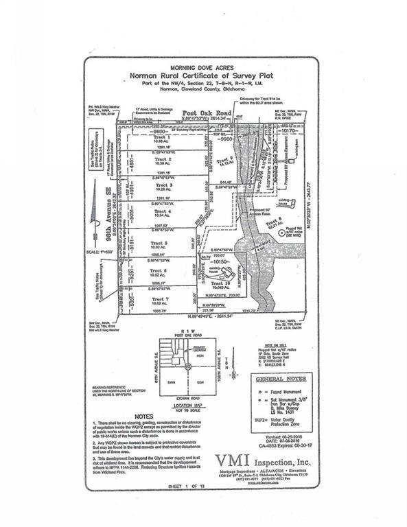 9600 SE Post Oak Road, Norman, OK 73069 (MLS #780369) :: Wyatt Poindexter Group