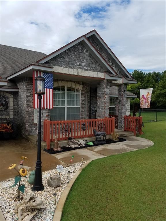 1592 Heartwood Drive, Blanchard, OK 73010 (MLS #786536) :: Richard Jennings Real Estate, LLC