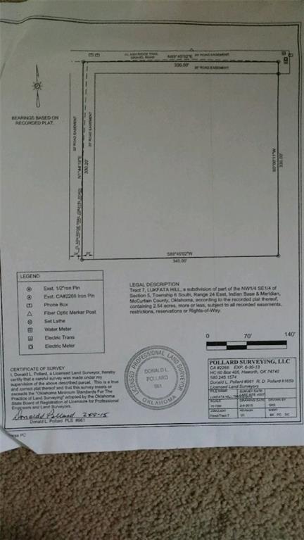 Lukfata Hills, Broken Bow, OK 74728 (MLS #793301) :: Wyatt Poindexter Group