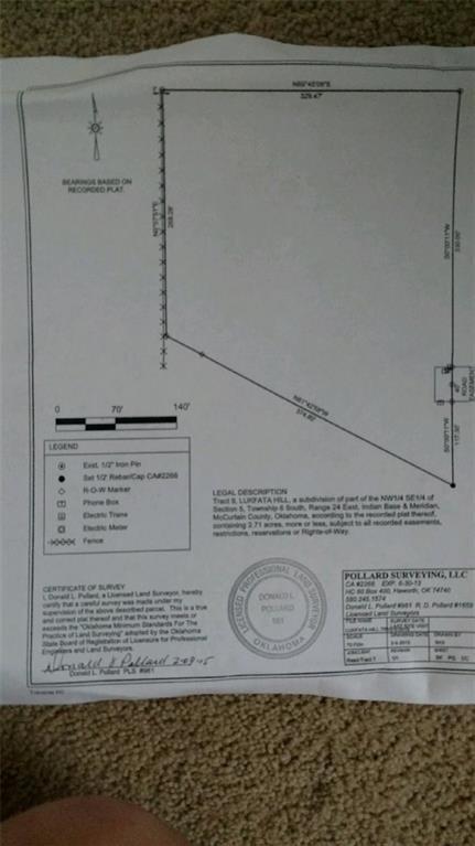 Lukfata Hills, Broken Bow, OK 74728 (MLS #793302) :: Wyatt Poindexter Group