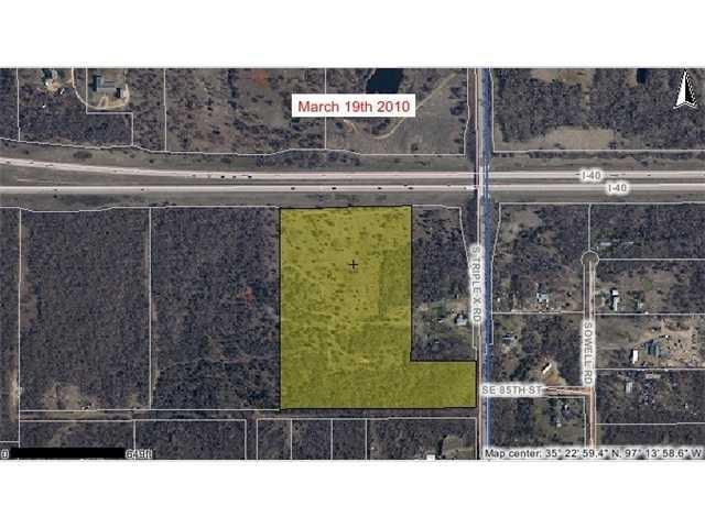 29851 Kickapoo Road, McLoud, OK 74851 (MLS #795203) :: Wyatt Poindexter Group