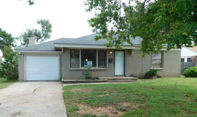 1230 Givens Drive, Midwest City, OK 73110 (MLS #795579) :: Richard Jennings Real Estate, LLC