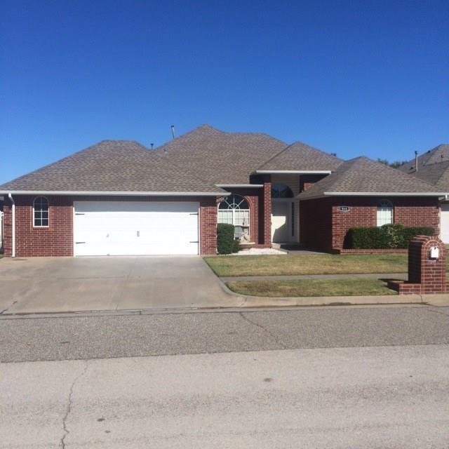 513 SW 153rd Street, Oklahoma City, OK 73170 (MLS #795655) :: Richard Jennings Real Estate, LLC