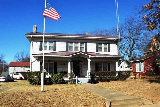 412 N Hinckley, Holdenville, OK 74848 (MLS #800499) :: Wyatt Poindexter Group