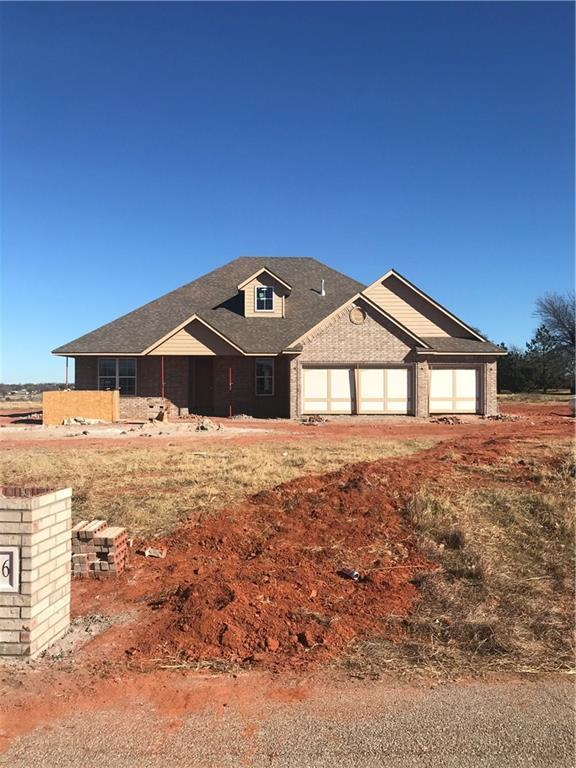 2336 Four Lakes Drive, Blanchard, OK 73010 (MLS #801571) :: Wyatt Poindexter Group