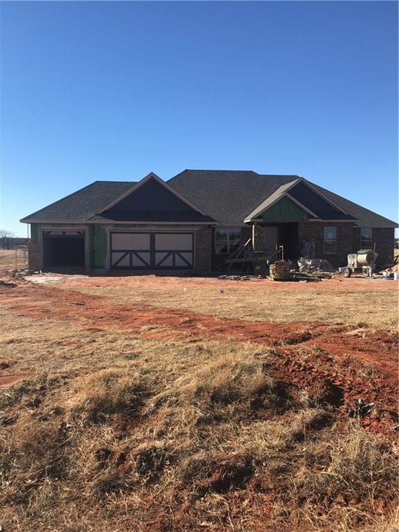 2337 Four Lakes Drive, Blanchard, OK 73010 (MLS #801593) :: Wyatt Poindexter Group