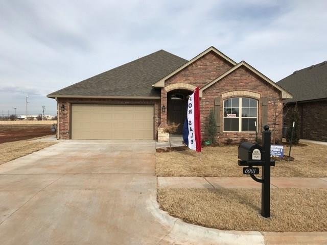 6901 NW 149 Street, Oklahoma City, OK 73142 (MLS #803320) :: Wyatt Poindexter Group