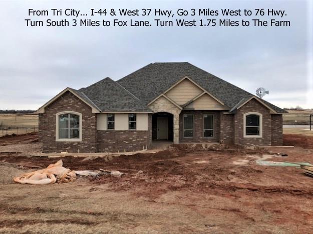 973 County Street 2982, Blanchard, OK 73010 (MLS #803517) :: Wyatt Poindexter Group