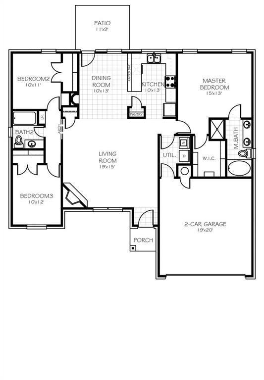2409 Snapper Lane, Midwest City, OK 73130 (MLS #804416) :: Homestead & Co